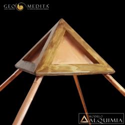 "PIRAMIDE GEOMEDITA MODELO ""ALQUIMIA"