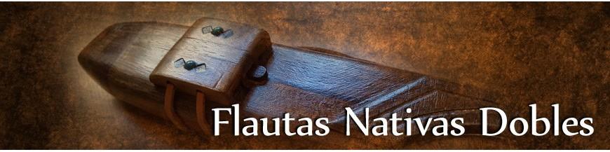 Flautas Nativas Dobles